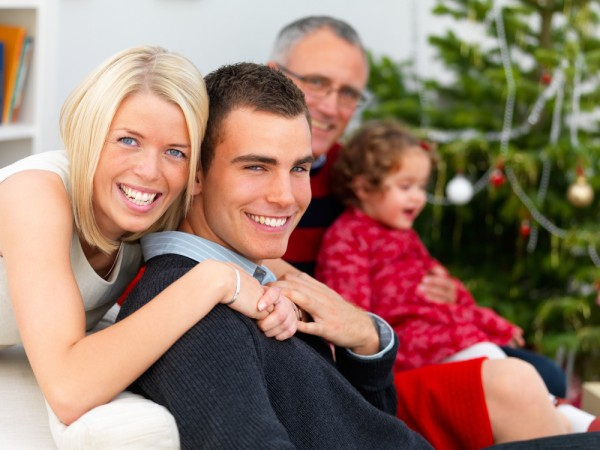 Kerst: de ideale gelegenheid voor familiefoto's!