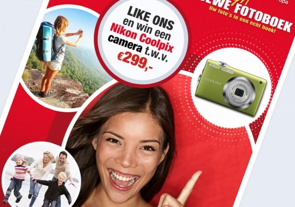 Volg ons op Facebook en win een Nikon Coolpix camera!