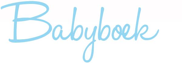 Lettertype Babyboek