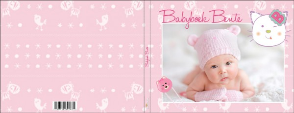 Cover babyboek