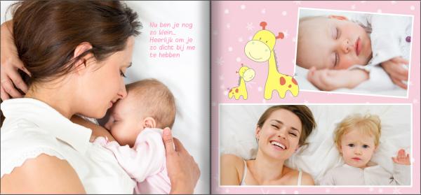 Spread babyboek