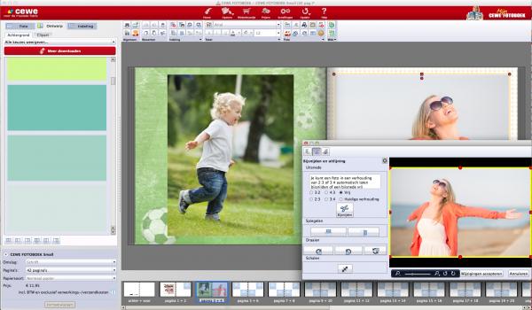 Handige functies in de CEWE fotosoftware