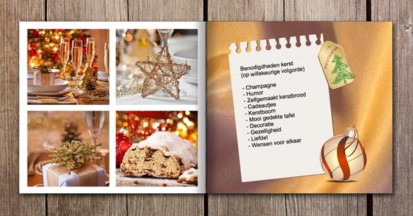 Fotoboek inspiratie kerstdiner