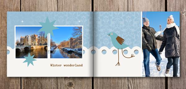 Fotoboek inspiratie winter wonderland