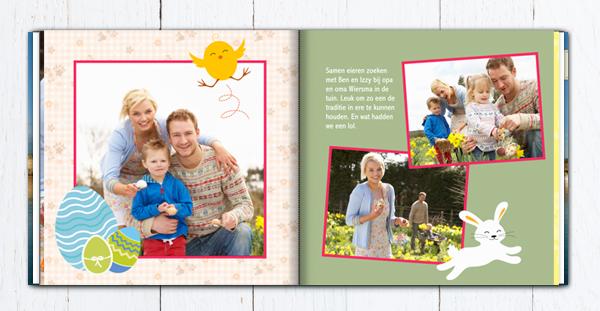 Fotoboek inspiratie: 3 x Pasen in je fotoboek