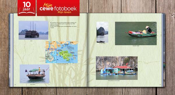 Wim's fotoboeken van de afgelopen 10 jaar