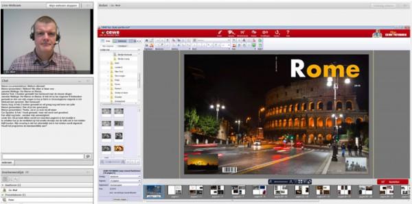 Webworkshop van CEWE – hulp bij het maken van een CEWE Fotoboek