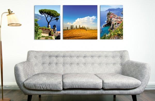 Leuk voor je interieur: een meerluik van CEWE - CEWE FOTOSERVICE