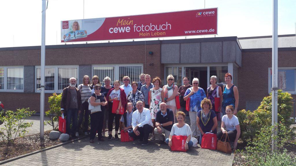 Rondleiding door het lab van CEWE in Mönchengladbach