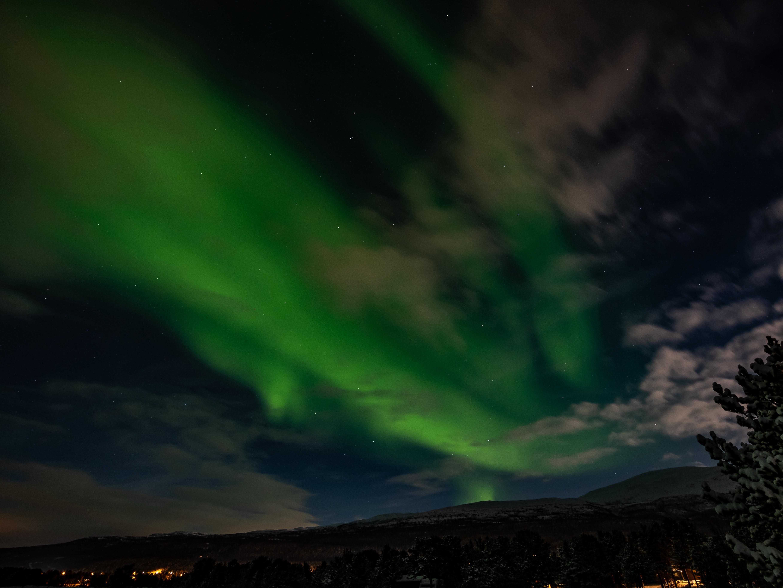Noorderlicht in Scandinavië